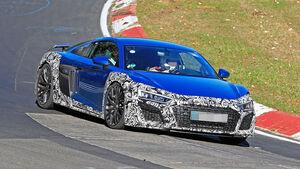 Audi R8 Facelift Erlkönig