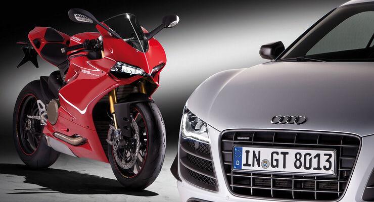 Audi R8 GT Ducati Panigale 1198