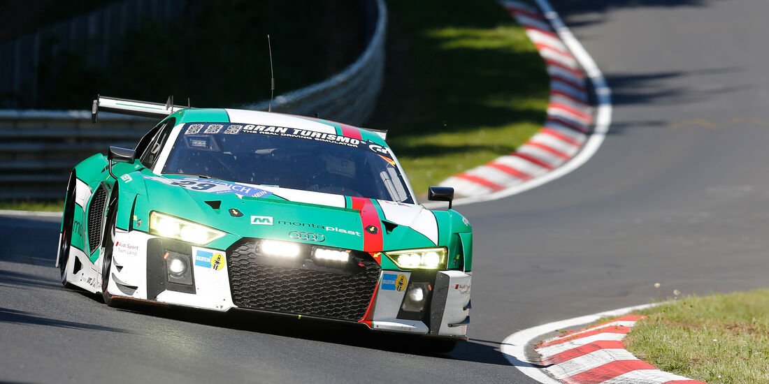 Audi R8 LMS - Startnummer #29 - 2. Qualifying - 24h-Rennen Nürburgring 2017 - Nordschleife