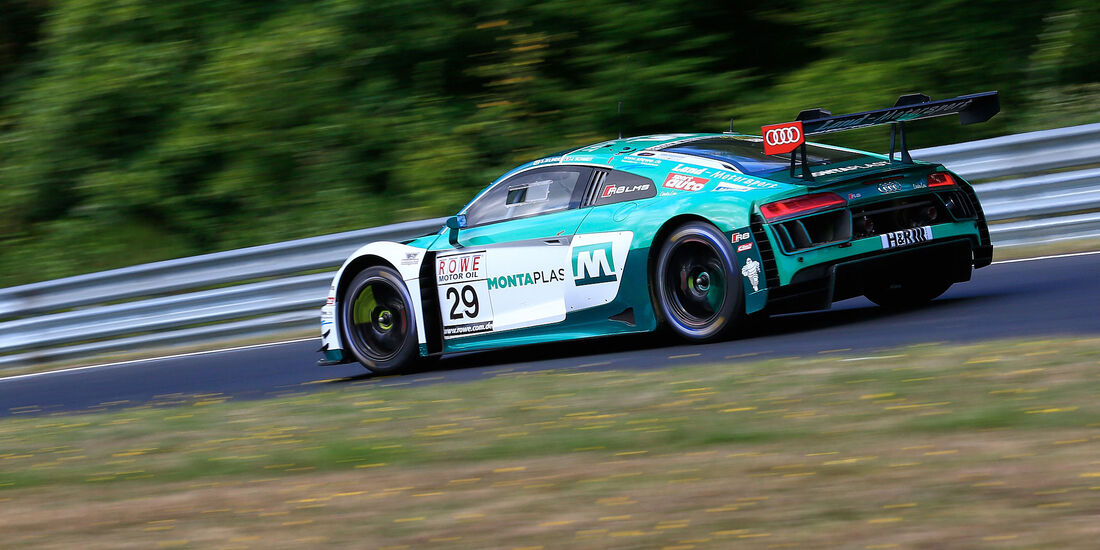 Audi R8 LMS - Startnummer #29 - VLN 2018 - Langstreckenmeisterschaft - Nürburgring-Nordschleife