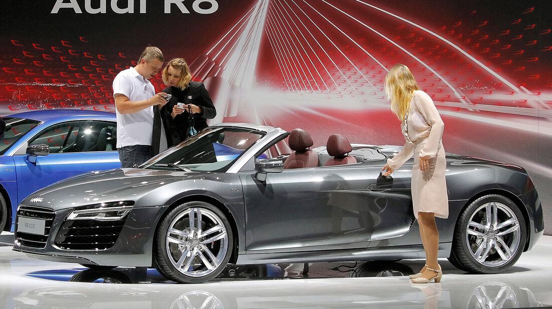 Audi R8 Moskau Motor Show 2012