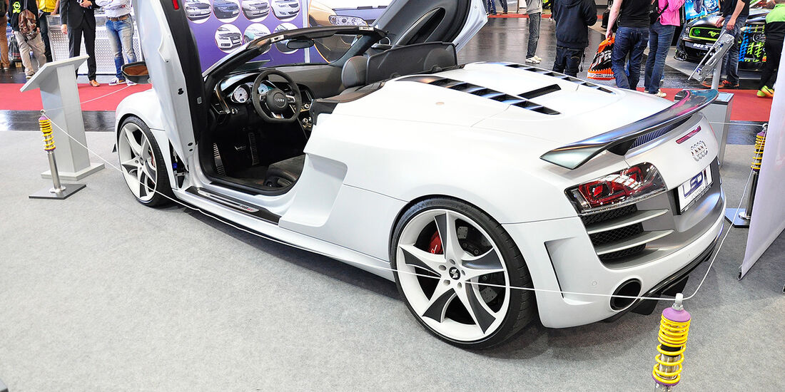 Audi R8 Spyder GT, LSD Doors, Tuning World Bodensee 2014