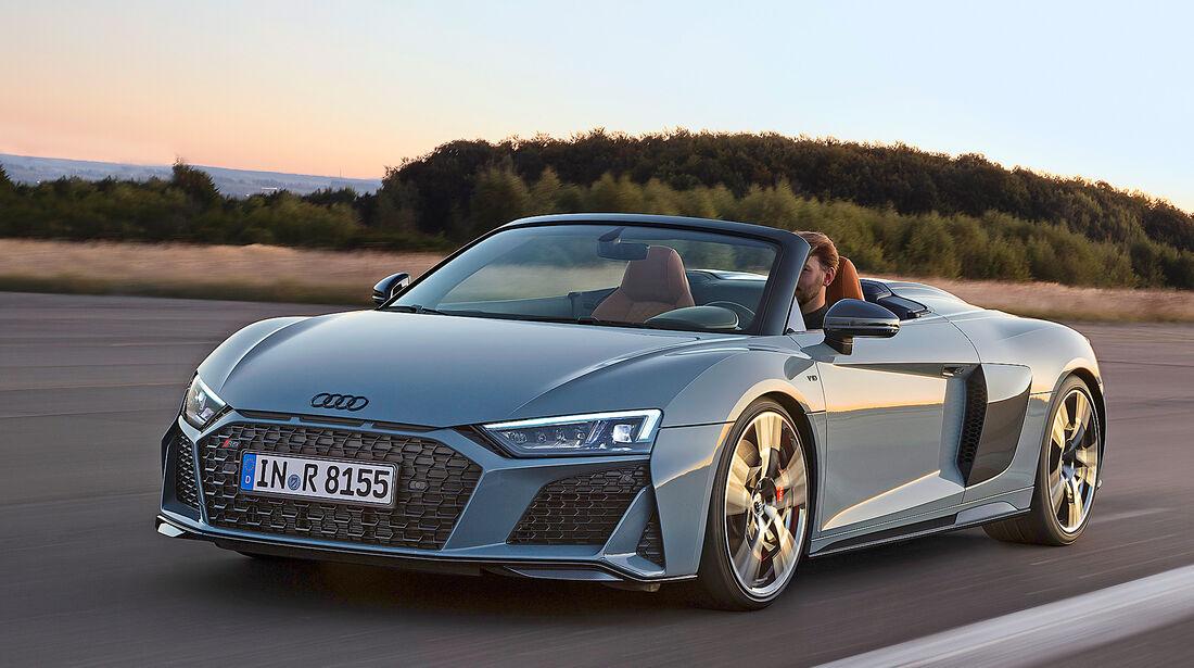 Audi R8 Spyder V10 Performance - Serie - Cabrios ueber 150000 Euro - sport auto Award 2019