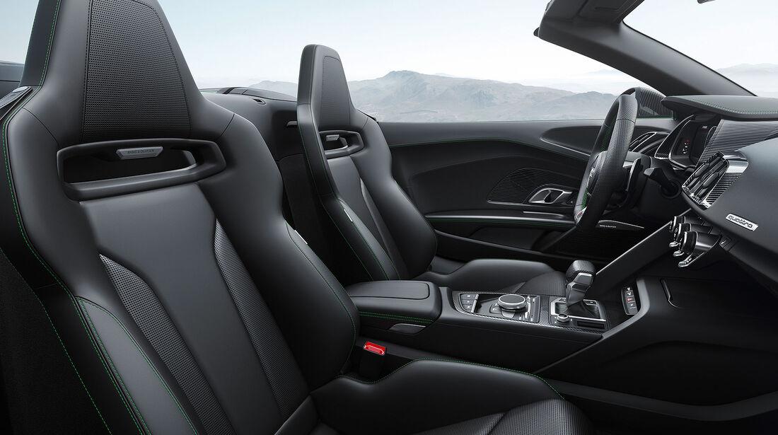 Audi R8 Spyder V10 Plus (2017)