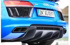 Audi R8 V10, Audi R8 5.2 FSI Quattro, Auspuff, Endrohre