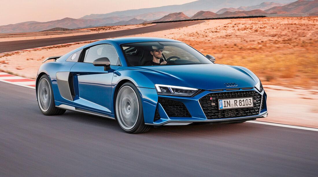 Audi R8 V10 Performance - Serie - Coupes ueber 150000 Euro - sport auto Award 2019