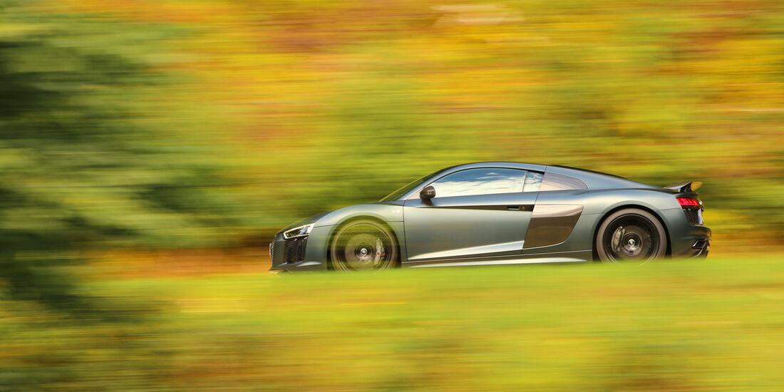 Audi R8 V10 Plus Coupé, Seitenansicht