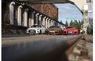 Audi R8 V10 Plus - Porsche 911 Turbo S Exclusive - Nissan GT-R - Sportwagen - sport auto 11/2017