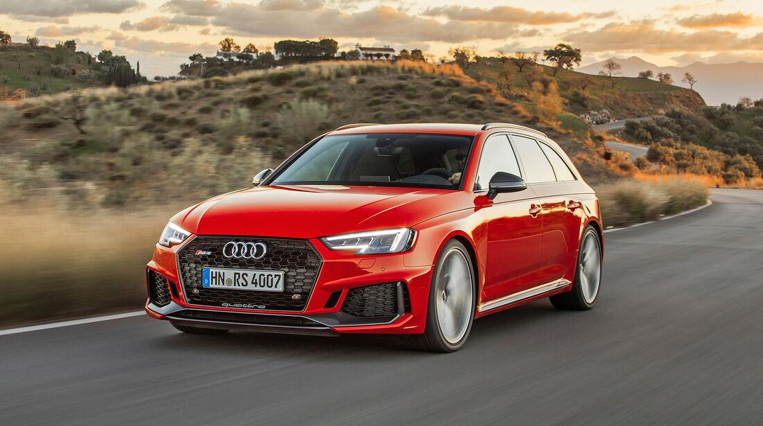 Audi RS 4 Avant - Serie - Limousinen bis 100000 Euro - sport auto Award 2019