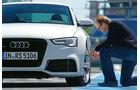 Audi RS 5 Coupé, Luftdruckmessung