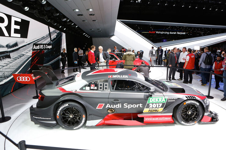 Audi Le Mans Racing Cars