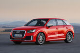 Audi RS Q2 Retusche