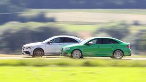 Audi RS3, Mercedes-AMG CLA 43,Fahreindruck