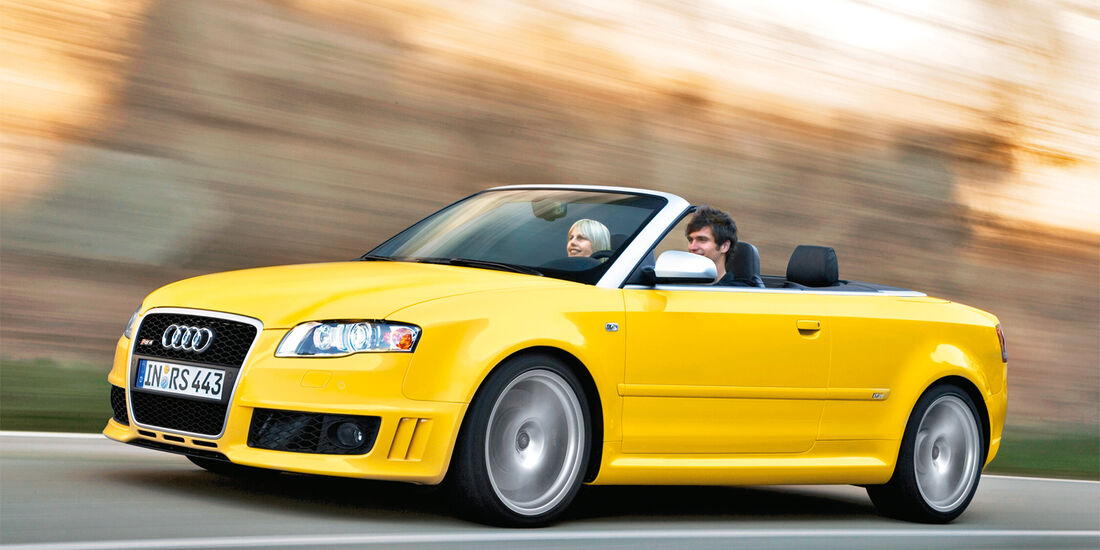Audi RS4 Avant, Cabrio, Frontansicht