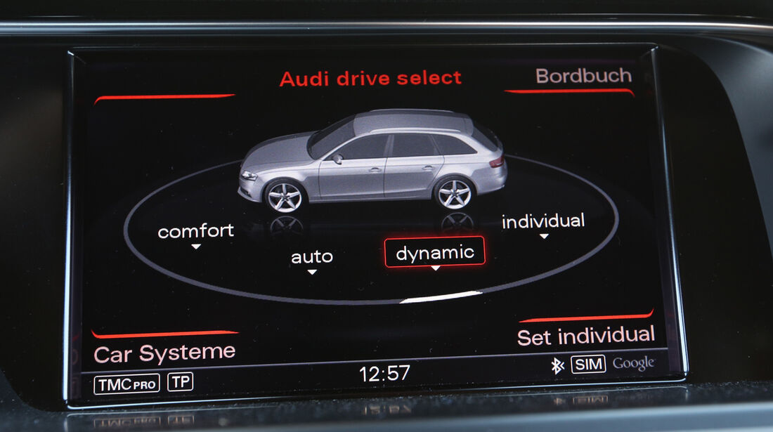 Audi RS4 Avant, Intertainment, Navi