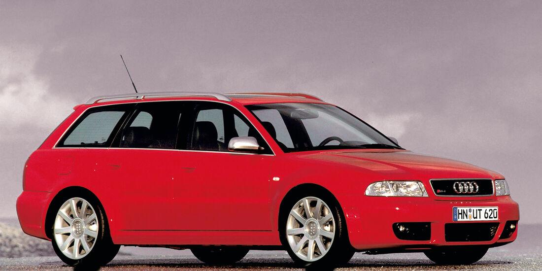 Audi RS4 Avant, Seitenansicht, Zweite Generation