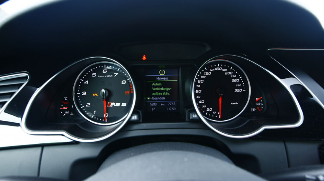 Audi RS5 Coupé Instrumentenbrett