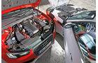Audi RS5 Coupé, Jaguar F-Type S Coupé, Motoren