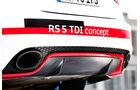 Audi RS5 TDI Concept, Auspuff, Endrohr