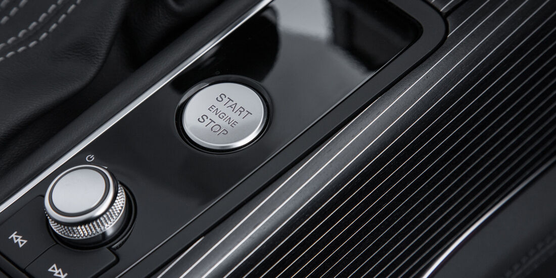 Audi RS6 Avant, Bedienelemente