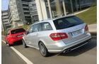 Audi RS6 Avant, Mercedes E63 AMG T