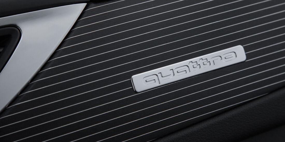 Audi RS6 Avant, quattro-Emblem