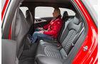 Audi RS6, Fondsitz, Beinfreiheit