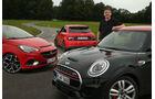 Audi S1, Mini JCW, Opel Corsa OPC, Jens Dralle