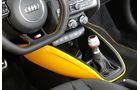 Audi S1, Schalthebel, Mittelkonsole