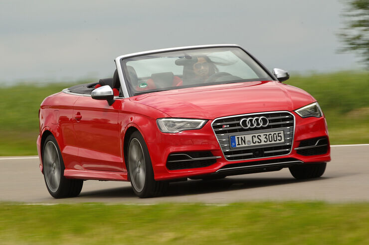 audi s3 cabriolet 2 0 tfsi quattro im test auto motor. Black Bedroom Furniture Sets. Home Design Ideas