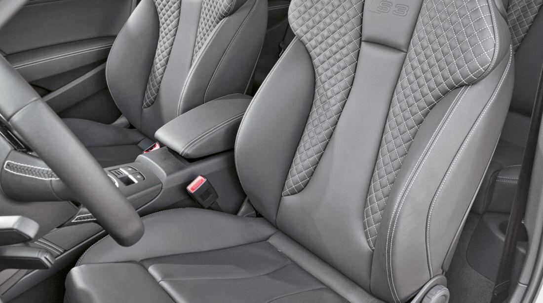 Audi S3. Fahrersitz