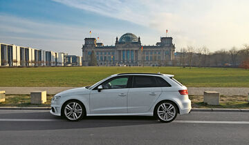 audi s3 sportback 2 0 tfsi quattro im test auto motor. Black Bedroom Furniture Sets. Home Design Ideas