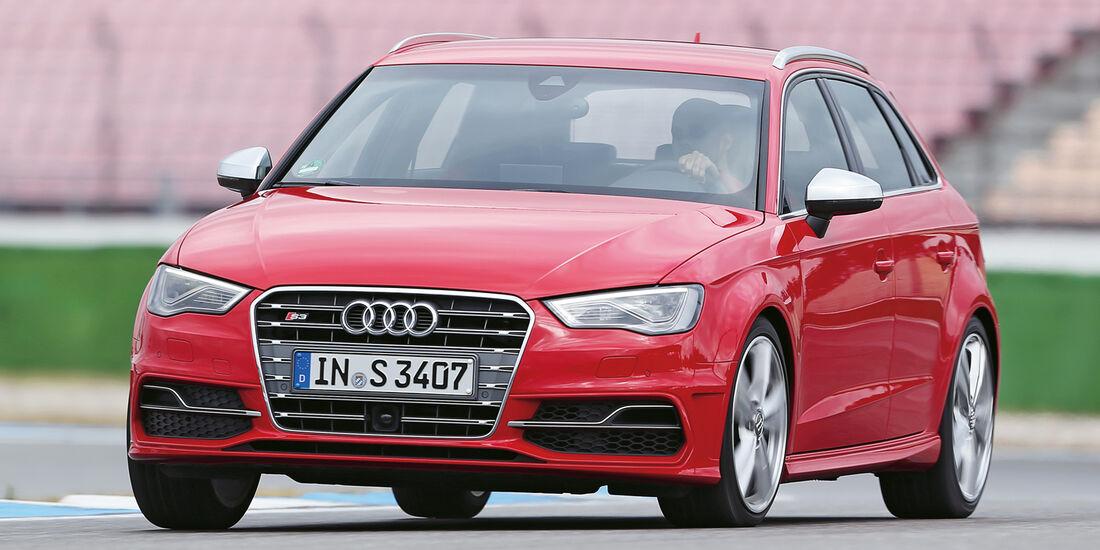 Audi S3 Sportback, Frontansicht