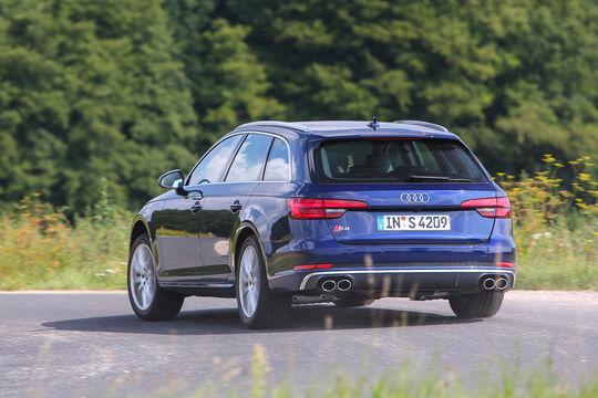 Audi S4 Avant, Heckansicht