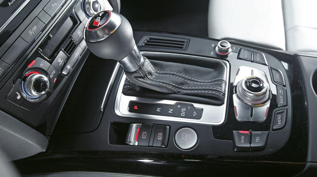 Audi S4, Schalthebel, Schaltknauf