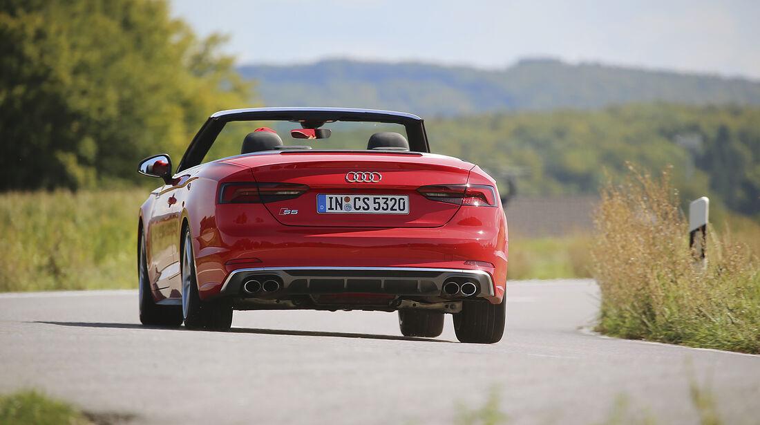 Audi S5 Cabrio, Exterieur, Heck