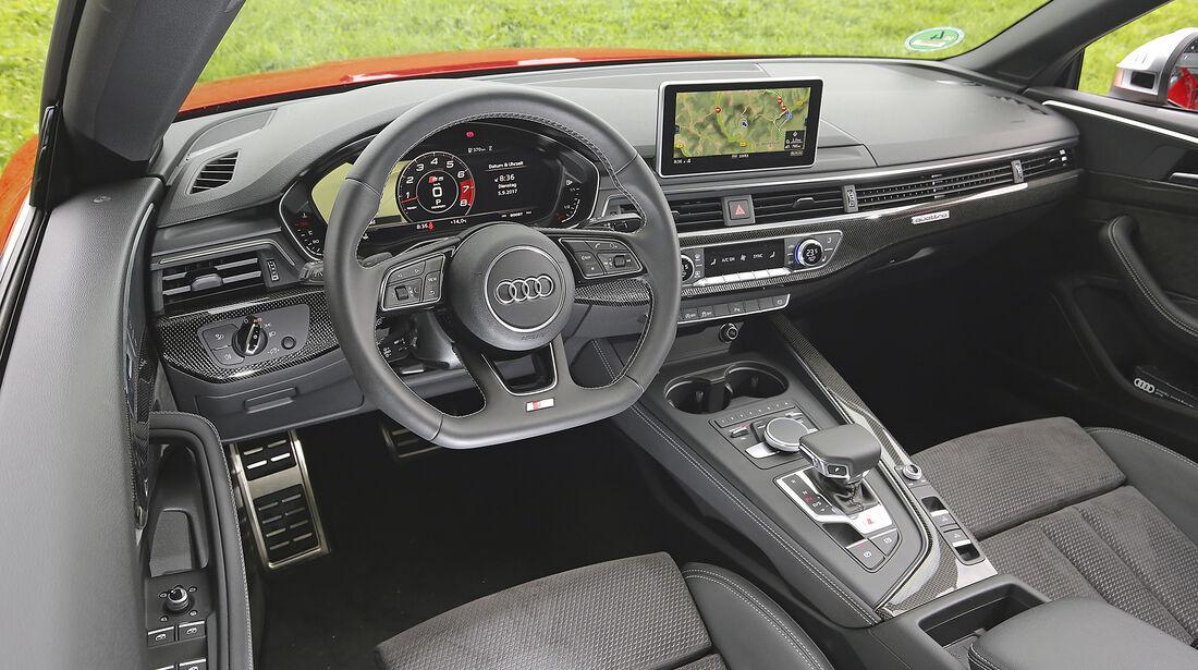 Audi S5 Cabrio, Interieur