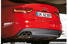 Audi S5 Sportback, Endrohr, Heck