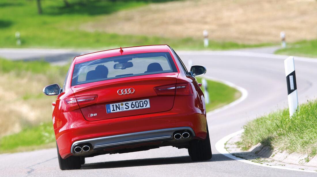 Audi S6, Frontansicht