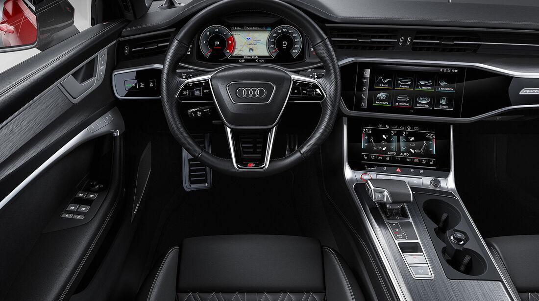 Audi S6 Innenraum 2019
