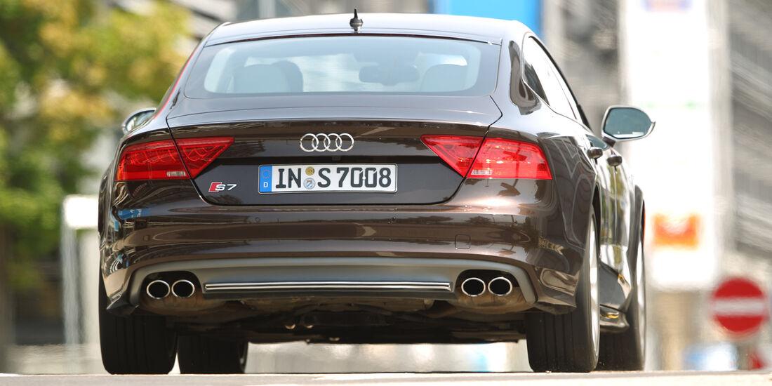 Audi S7 Sportback, Heckansicht
