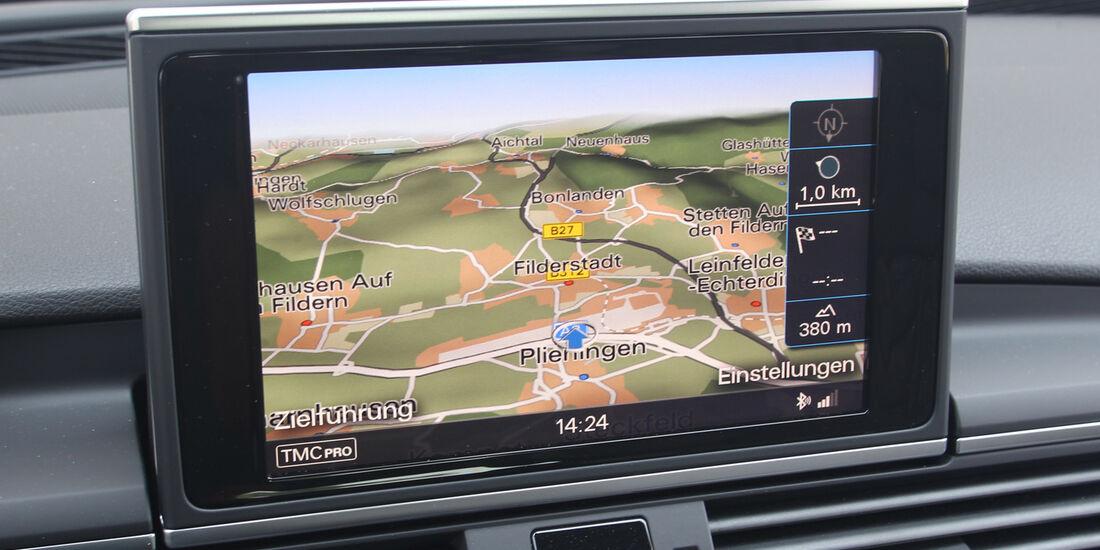 Audi S7 Sportback, Navi