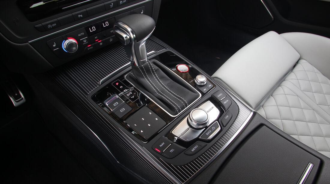 Audi S7 Sportback, Schaltknauf, Schalthebel