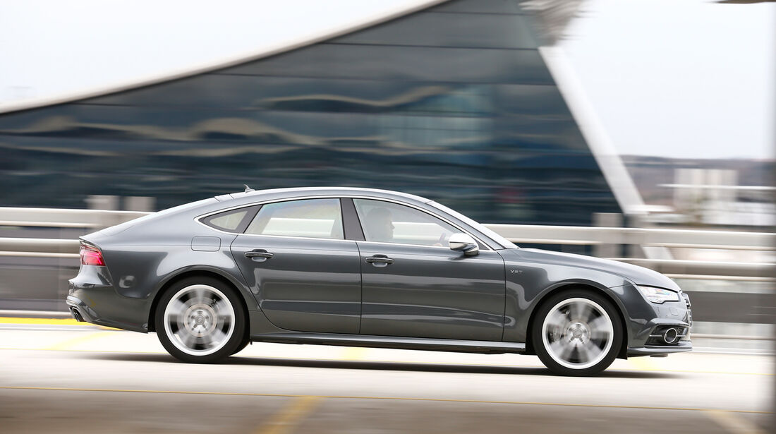 Audi S7 Sportback, Seitenansicht