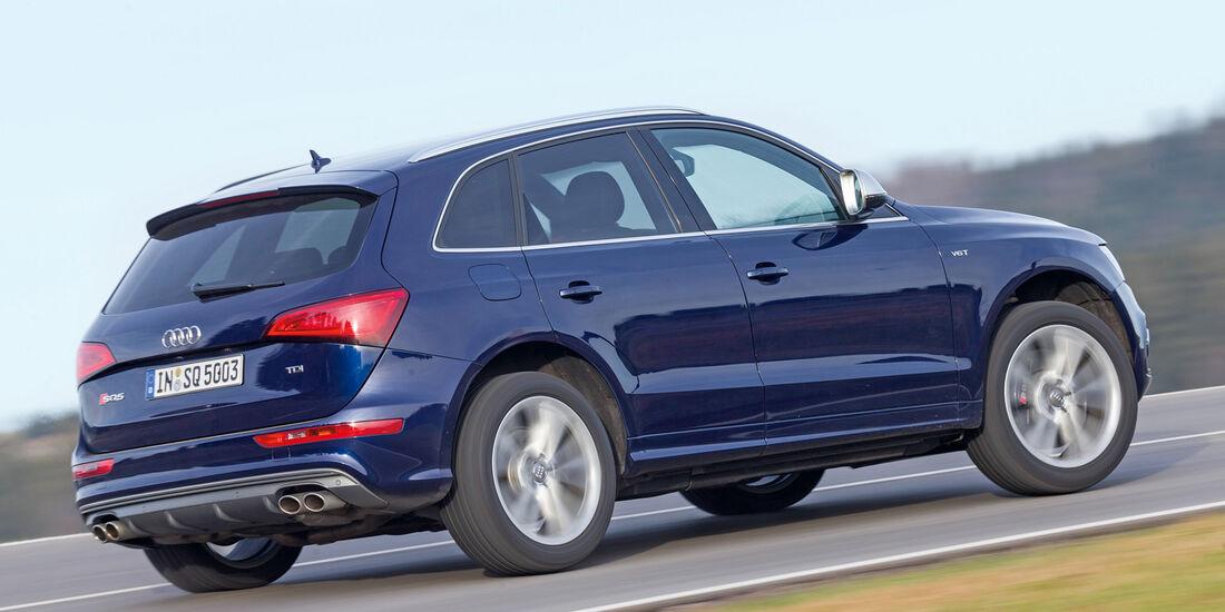 Audi SQ5 3.0 TDI, Seitenansicht