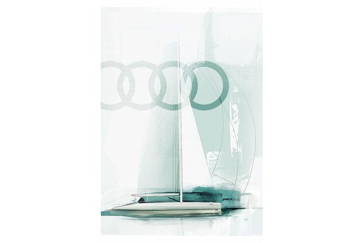 Audi Segelboot