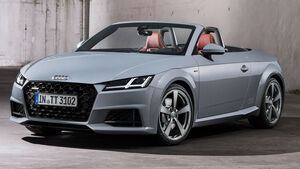 Audi TT 20 years Sondermodell 07/2018 Roadster Sperrfrist 18.072018 12 Uhr