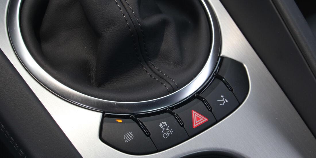 Audi TT, Bedienelemente