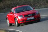 Audi TT Coupé Quattro, Frontansicht