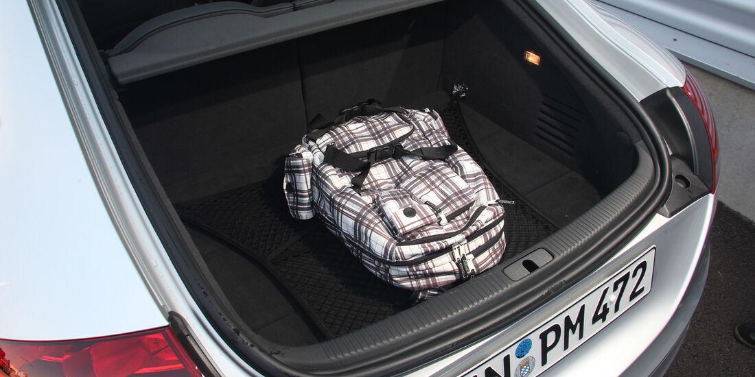 Audi TT, Kofferraum